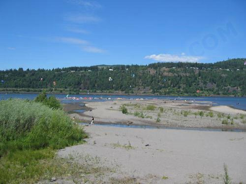 Kiteforum com - Spots - Columbia River / Hood River Sandbar, Oregon