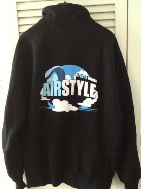 Airstyle Sweat Jacket Size L
